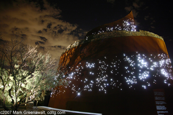 Fiber Optic Lighting in Estrella starfield