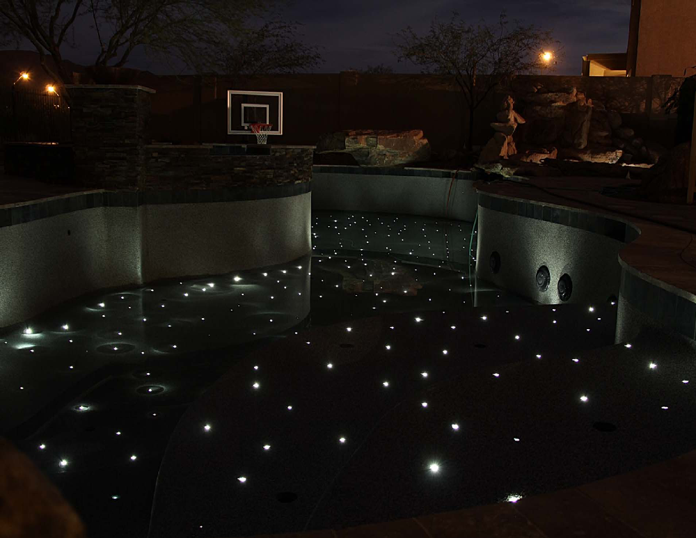 Stars in floor pool empty fiber optic star floor kit 10 points of light 60 feet of fiber Fiberstars 6004 at gsmportal.co
